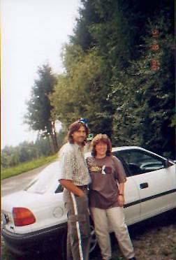 Wir und unser Car  Licence Plate:  USA1